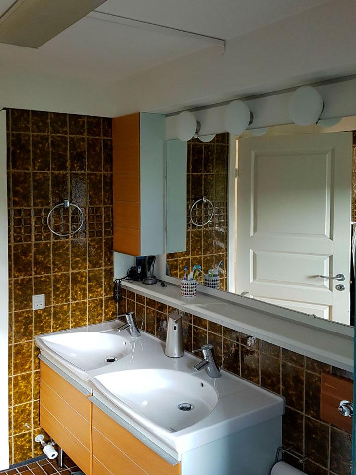 renovering af badeværelse gammelt