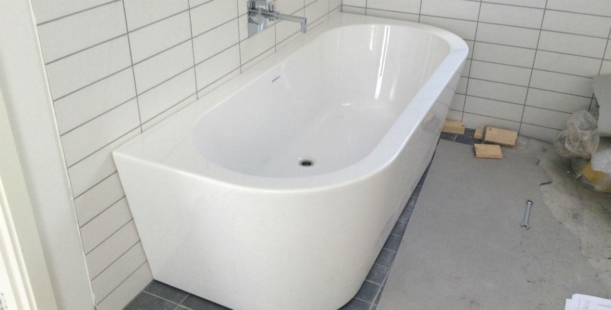 billede af badekar