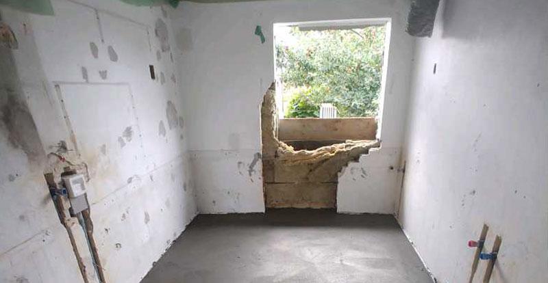 billede af renovering