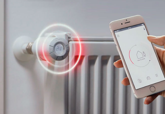 VVS installation af danfosslink så du kan regulerer varmen via din mobiltelefon