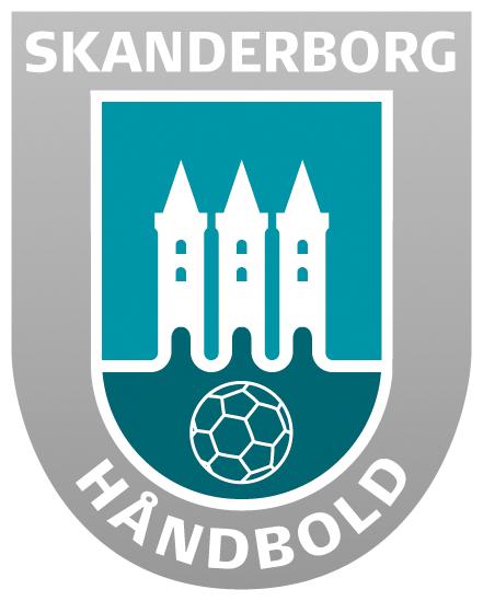 Skanderborg håndbold klub logo, da vi støtter klubbens herre liga hold
