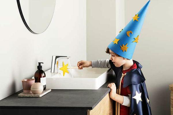 håndfri hygiejne får børnene til at vaske hænder