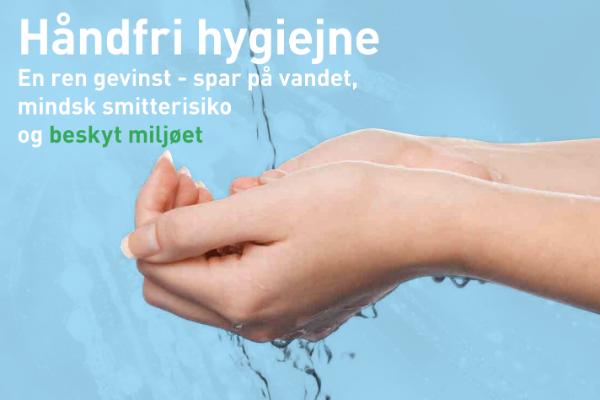 håndfri hygiejne - link til brdr.Dahl kampagne folder
